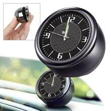 Шт. 1 шт. кварцевые часы Простой и уникальный дизайн автомобильный интерьер орнамент светящиеся цифровые электронные часы декоративные для большинства автомобилей