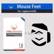 2sets NEW Mouse Feet /Skates PTFE Teflon 3M 0.6mm for Log.itech G502 Mouse