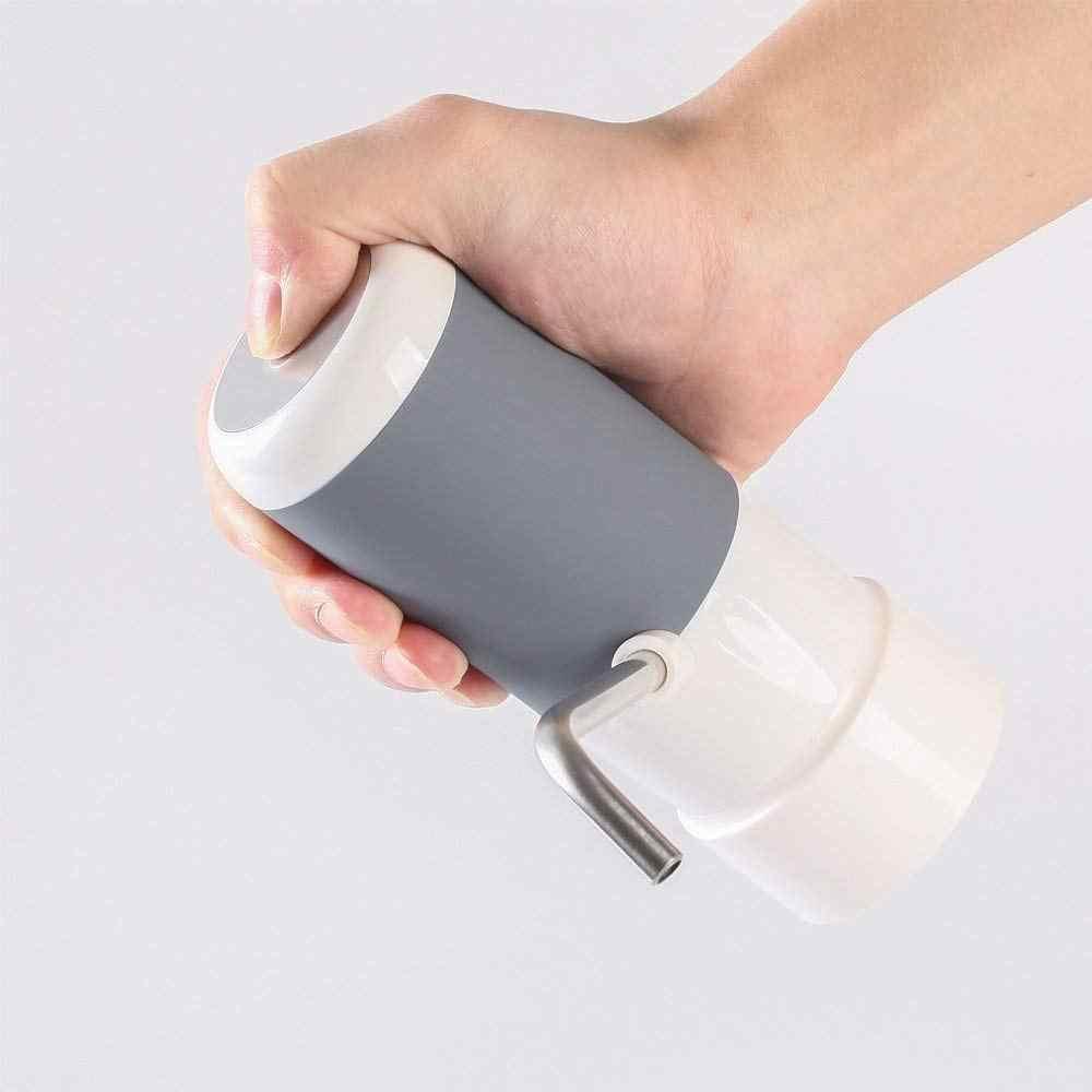 Портативный беспроводной Электрический питьевой диспенсер для водяного насоса для бутылки 5 галлонов с перезаряжаемой батареей и зарядной линией Usb