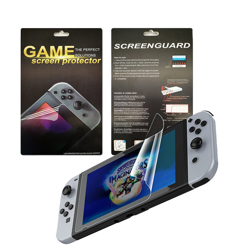 HD Ultra-thin Screen Protector for Nintend Switch Console Video Games Accessories Protective Skin Scratch Resistant Film