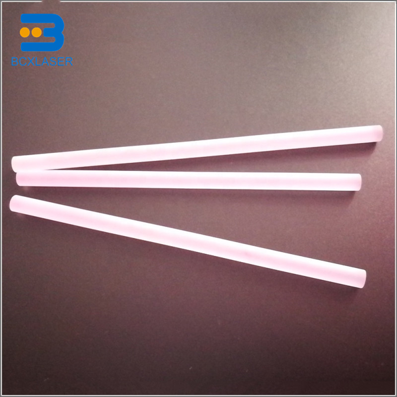 6X120mm 7x130mm 8X185mm  ND YAG Laser Crystal Rod