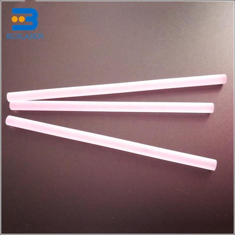 YAG Laser Rod Crystal High Performance For Yag Laser Welding Machine Rod Diameter 2-15mm Length 1-220mm