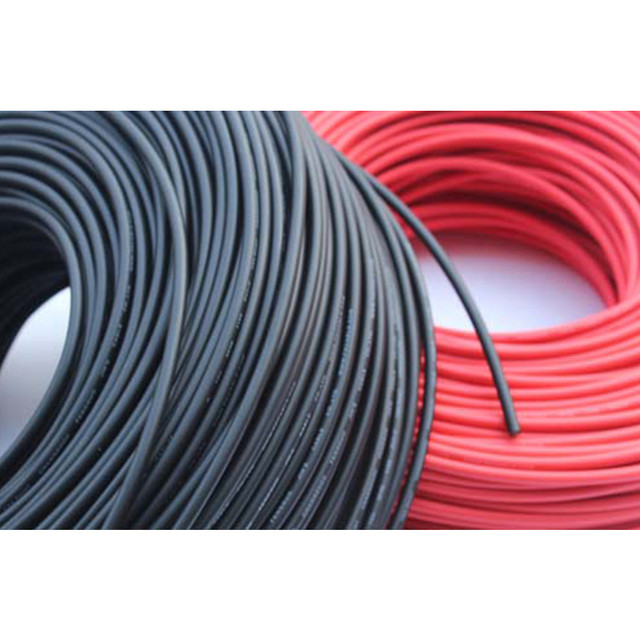 1x5M red+black solar PV cable 4