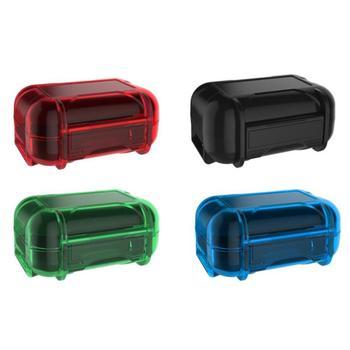 ABS Plastic Headphone Storage Box Holder Moistureproof Dustproof Pouch Case