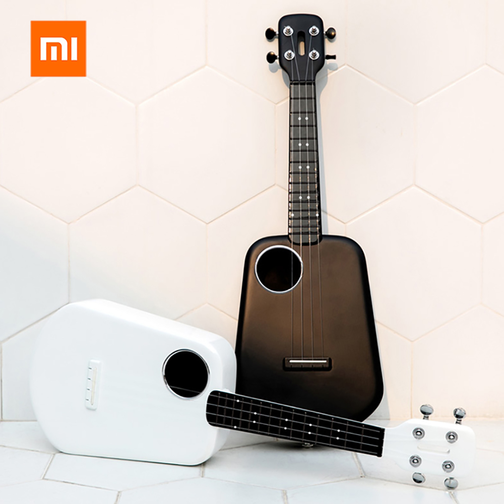 Original 01 Populele 2 Ukulele USB Smart Ukulele From 01 Youpin APP Control Bluetooth 4.0 Led Lamp Beads For Home 2019