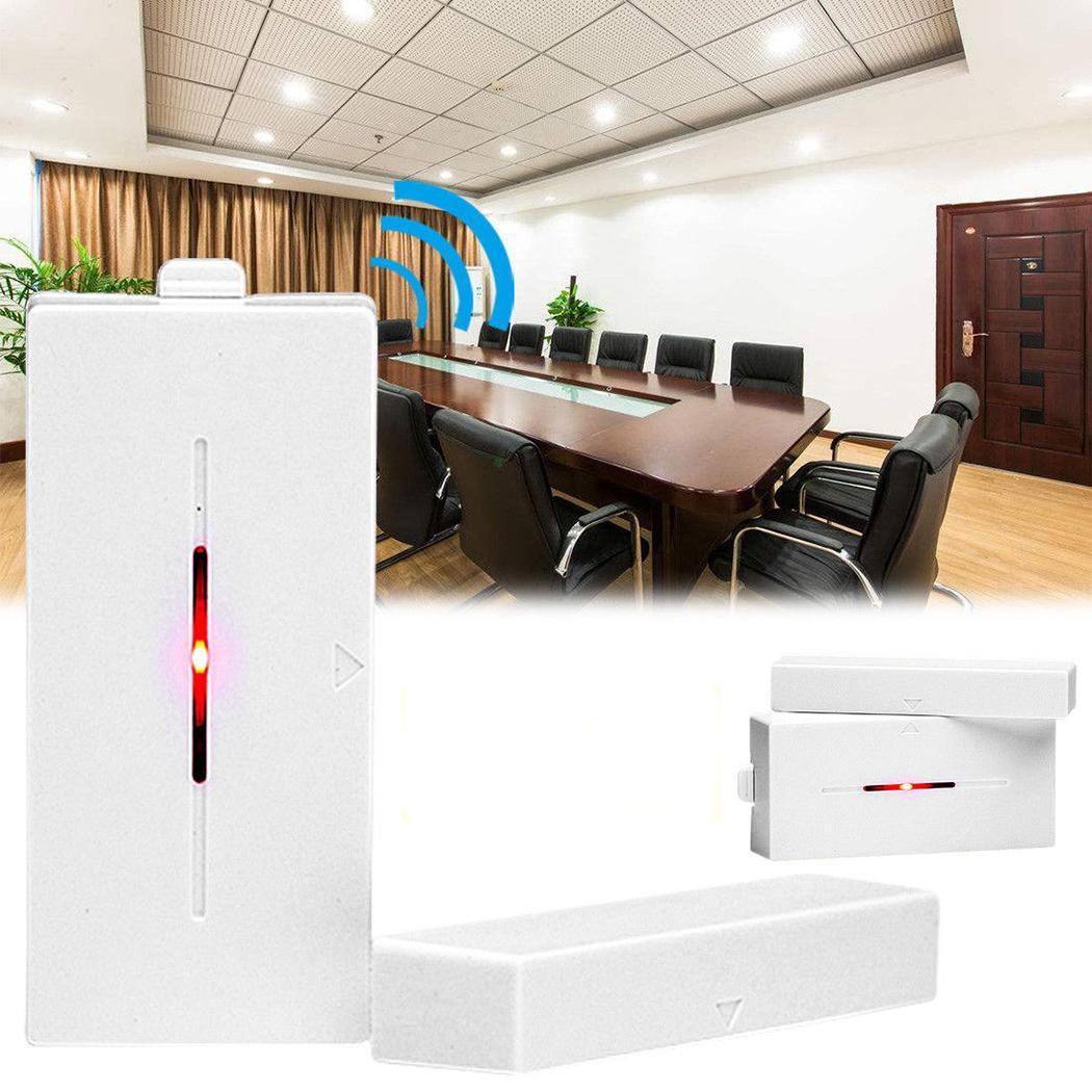 Wireless Magnetic Home Door Window Sensor Detector 433.92MHZ Security 1A Burglar 12V Alarm White 10mA