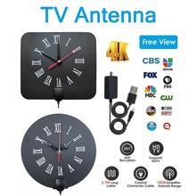 цена на HD Digital TV Antenna Long 180 Miles Range Support 4K 1080P HDTV Amplifier Signal Booster Antenna TV Antenna Signal Amplifier