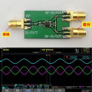 Image 1 - DYKB 100KHZ 6000MHZ RF ההפרש מוארק ממיר Balun 1:1 ADF4350 ADF4355 10MHZ 3GHz עבור לשינקין רדיו מגבר