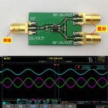 Dykb 100 125khzの 6000mhzのrf差動シングルエンドコンバータバラン 1:1 ADF4350 ADF4355 10 3 アマチュア無線用のアンプ