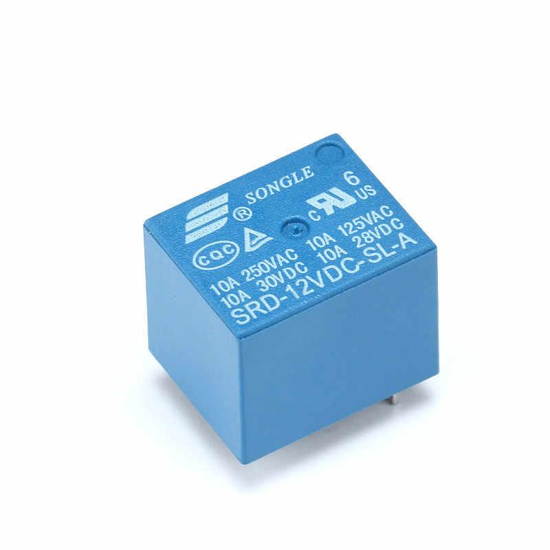 Relay SRD-05VDC-SL-A 5 V 10A 250VAC 4PIN T73 RD-24VDC-SL-A RD-12VDC-SL-A 24 V 12 V Power Relay 10A