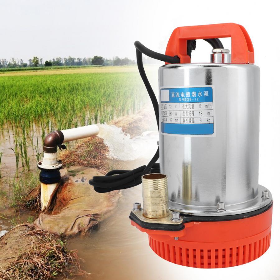 Dc 12 V Tauch Tiefen Gut Wasser Pumpe Bewässerung Wasserpumpe Wasserdichte Tauch Aquarium