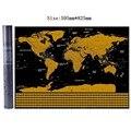 Карта мира  Постер для путешествий  медная фольга  персонализированный журнал  большой размер с цилиндрической упаковкой