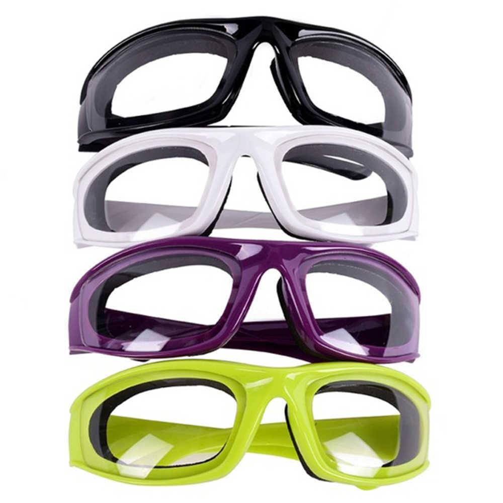 Gafas de cocina baratas de alta calidad para cortar, picar, proteger los ojos, accesorios de cocina