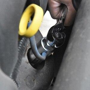 Image 5 - 5 pc 22ミリメートルクロームバナジウム鋼酸素真空ラムダセンサー削除ソケットセット糸chasers車ツール修理ツール