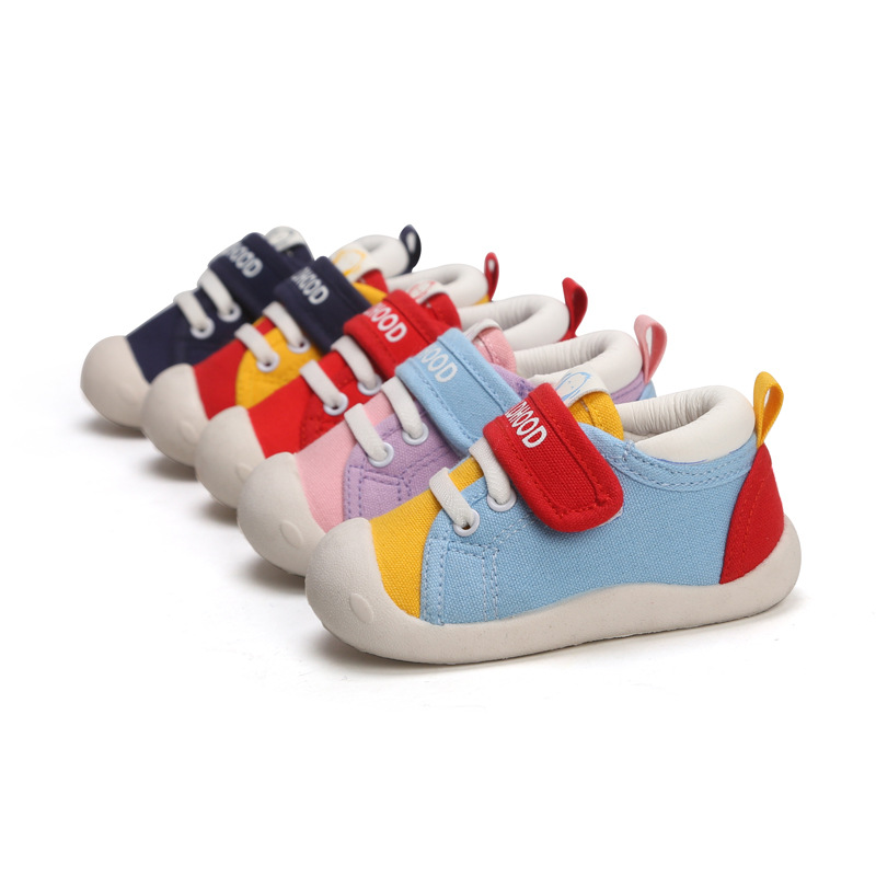 2019 New Kids Shoes Sneakers Soft Elastic Fabric Baby Shoes First Step Boy/Girl Shoes Infant Antiskid Sneaker Boys Girls Shoes