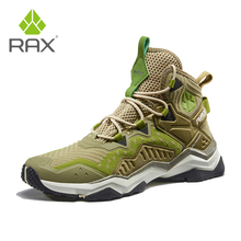 Rax 2019 New Style Light Breathable Hiking Shoes Men Outdoor Sports Sneakers for Man Trekking Boots Tactical Shoes Man Travel new 2017 xiangguan trekking boots shoes outdoor hiking shoes for women camping sports lady breathable winter sneakers boots