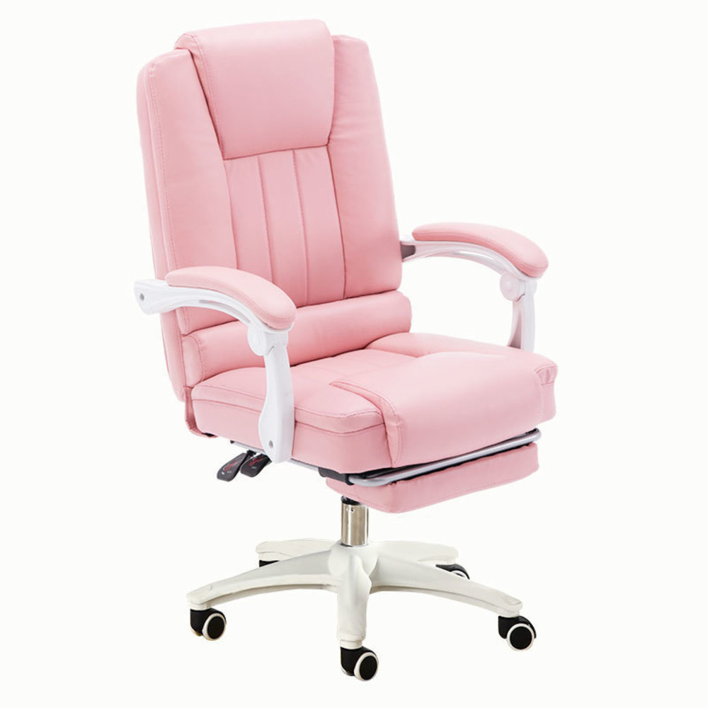 Купить с кэшбэком new Computer Student Sowing Backrest Chair Bedroom Solo Sofa Lovely Girl Economics Type Princess European Pink Colour