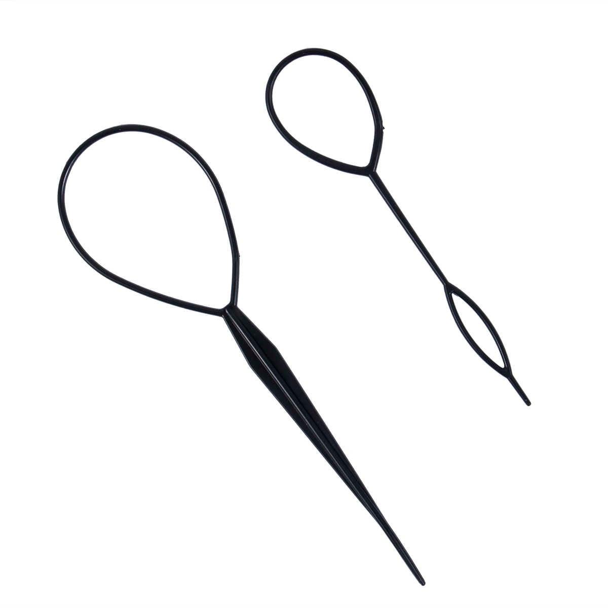 2019, два предмета, пластиковый магический хвост, коса для волос, инструмент для создания зажимов, конский хвост, стильный, для взрослых