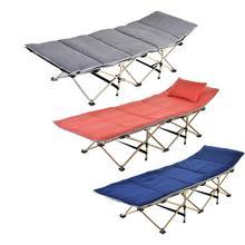 Outdoor Camping Portable Folding Sleeping Pad Comfortable Cotton Pad Mattress Folding Bed Camping Mattress Office Nap  Bed bed portable bed outdoor folding beds single