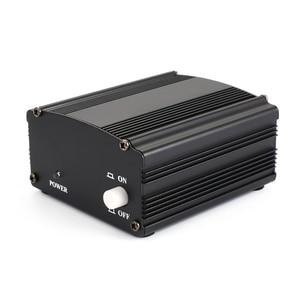 Image 2 - 48v usb fantasma fonte de alimentação cabo usb microfone cabo para mini microfone condensador equipamento de gravação preto