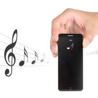 Untra thin Teléfono Móvil Inteligente A7 1 63 pulgadas Tecla de pantalla táctil banda Dual SIM bar teléfono móvil Bluetooth Radio reproductor MP3 MP4