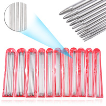 Mayitr 55pcs/set 20cm 11 Size Double Pointed Straight Knitting Sewing Needles Tools Sweater Stainless Steel