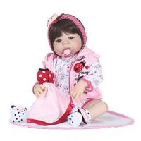 Realistic Silicone Reborn Dolls for girls Soft doll new born baby doll Soft Silicone Realistic With Clothes Reborn Baby Doll