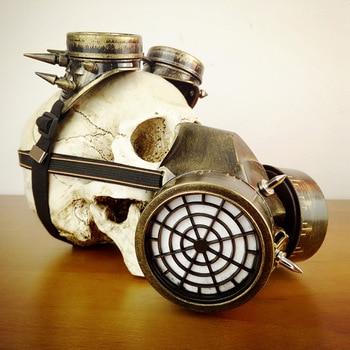 c061a6893 Médico praga Máscara Máscara de Óculos de proteção de Steampunk Do Vintage  Gótico Acessórios Unisex Cosplay Máscara de Gás Máscaras Do Partido do Dia  Das ...