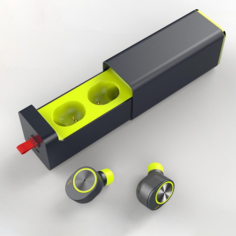 True TWS casque sans fil Sport Bluetooth V4.2 écouteurs meilleurs écouteurs sans fil avec micro plus petit casque stéréo anti-transpiration (