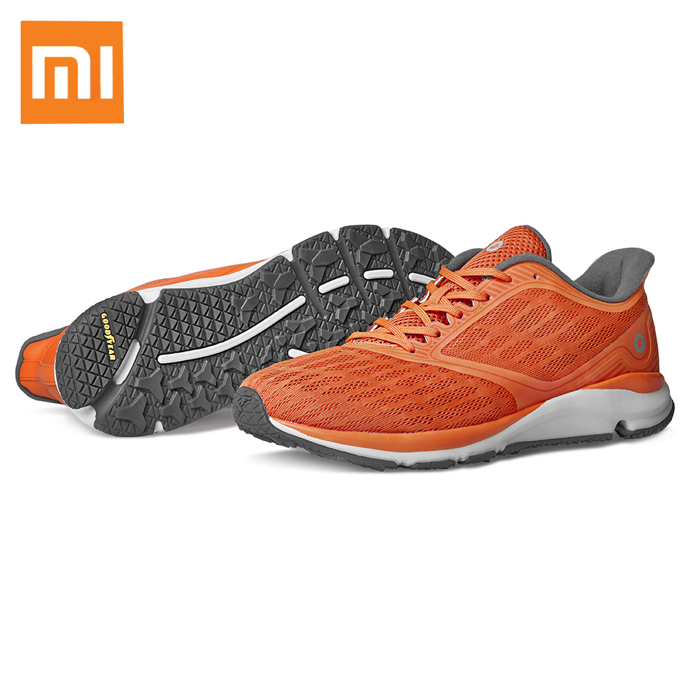 Original Xiaomi Youpin Orange Breathable Anti Slip Waterproof Running Athletic Shoes