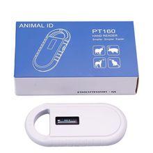 Rfid FDX-B/считыватель микрочипов для животных ISO чип Портативный OLED сканер для собак и кошек 134,2 кГц для rfid стеклянной бирки/бирки для кроличьих ушей