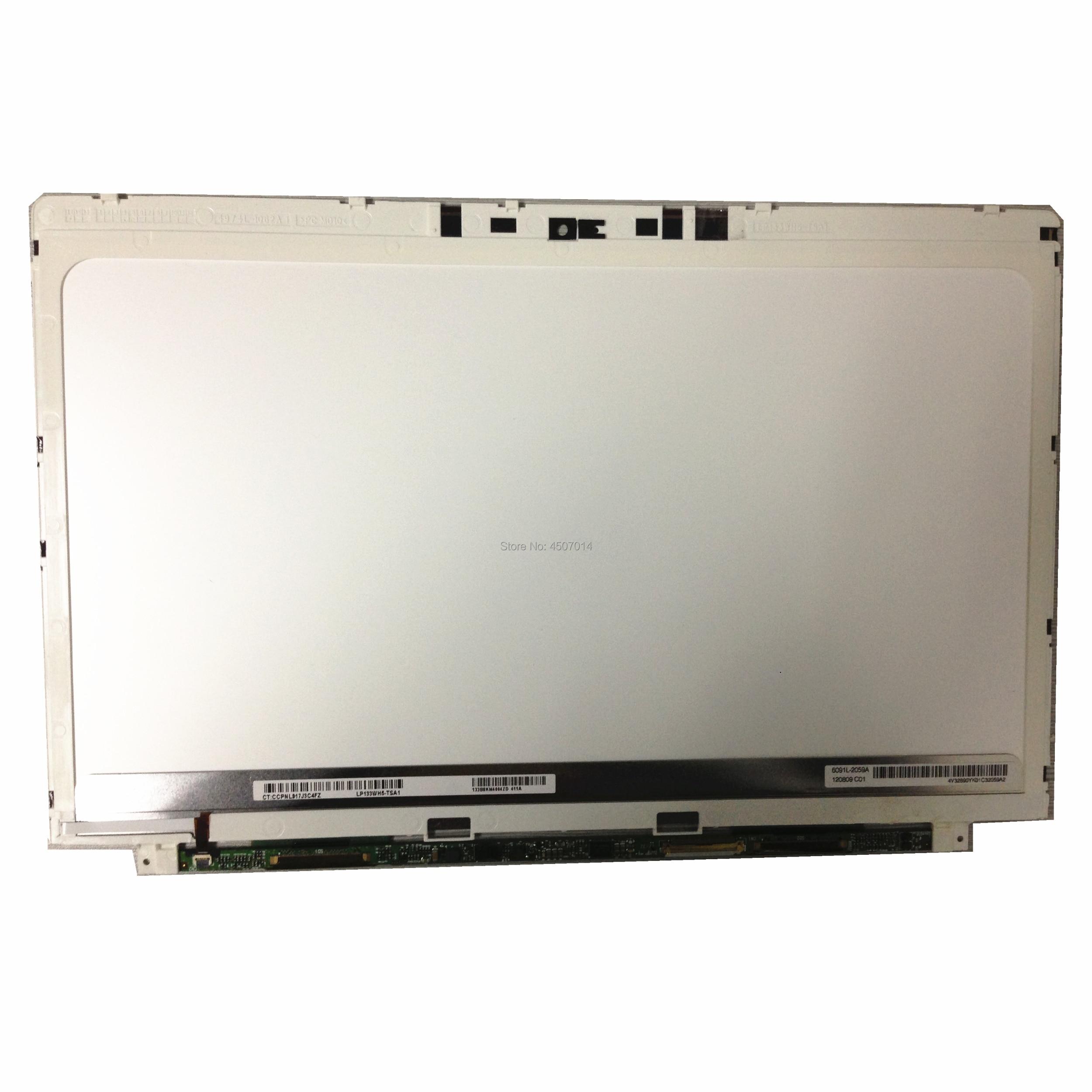 Free Shipping 13.3''LP133WH5-TSA1 LP133WH5 TSA1 Fit for HP Spectre XT Pro 13 Laptop Lcd Screen