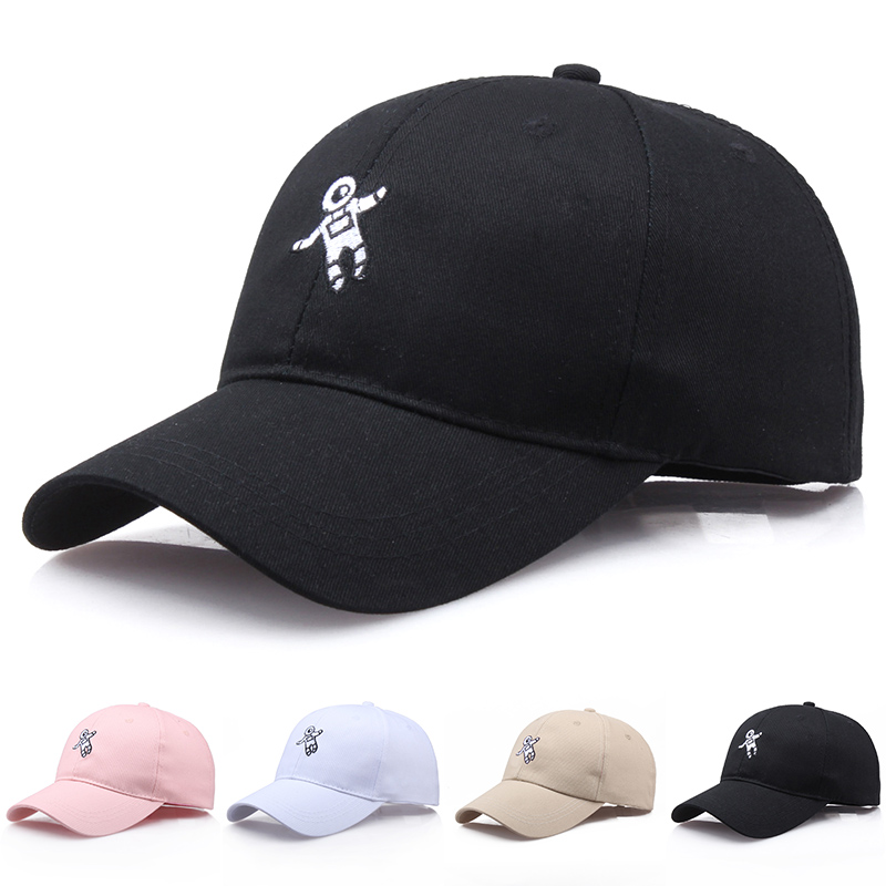 1PC Unisex unisex snapback Sunshade men good quality 4 colors dad hat Sun block astronaut emberoidery   baseball     cap   women
