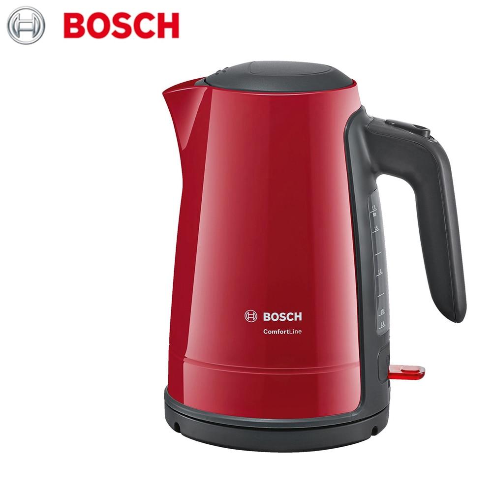 лучшая цена Electric Kettles Bosch TWK6A014 home kitchen appliances kettle make tea