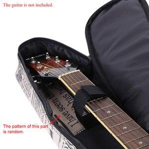 """Image 5 - 41 """"Acoustic Túi 600D chống Nước Vải Oxford Đôi Đeo Dây Túi Đàn Guitar Xách cho Đàn Acoustic đàn Guitar"""