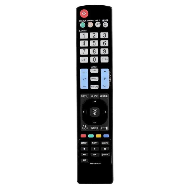 Remote Control Plastic Replacement TV Remote Controller for LG 42LE4500 AKB72914209 AKB74115502 AKB69680403 High Quality