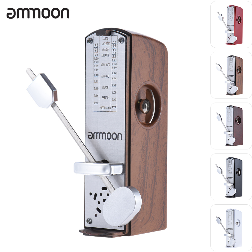 buy ammoon guitar metronome mechanical metronome universal acoustic guitar. Black Bedroom Furniture Sets. Home Design Ideas