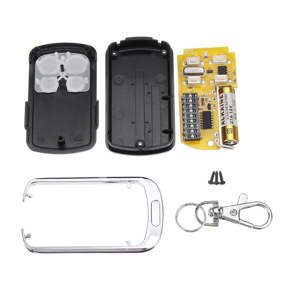 Belupai Mando a distancia para puerta de garaje 433,92 Mhz 9 DIP Interruptor para B/&D Accent CAD602 4332EBD