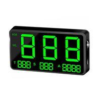 전문 디지털 자동차 gps 속도계 속도 표시 km/h mph 자전거 오토바이 자동차에 대 한 센서를 통해 밝기 조정