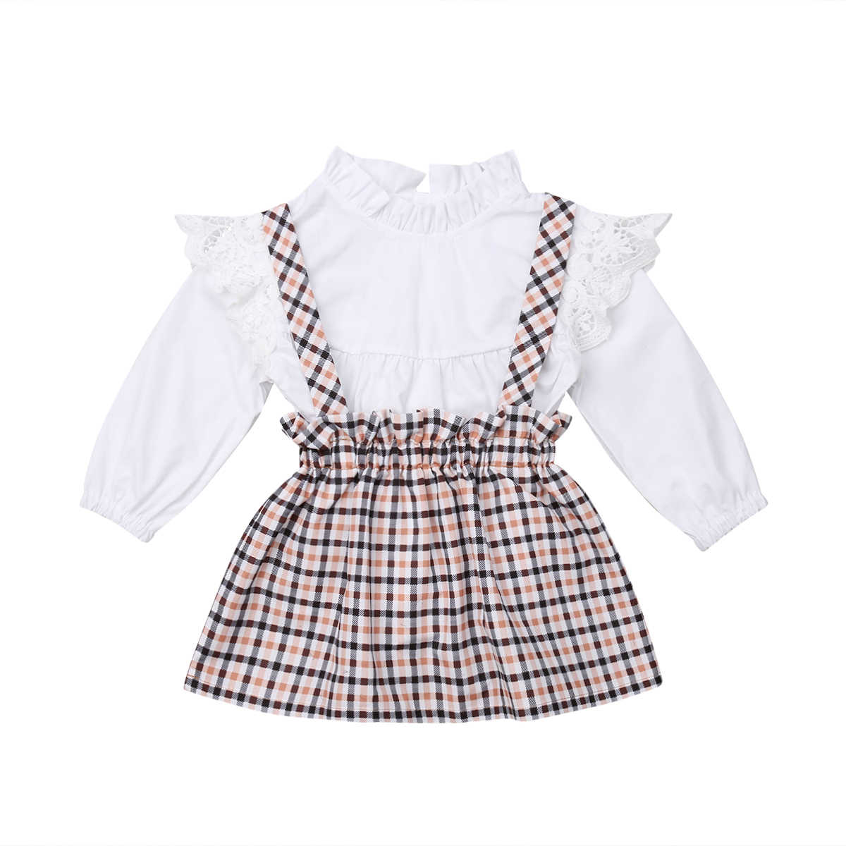 16b26c74a883 Detail Feedback Questions about 2PCS Toddler Kids Baby Girl Long ...
