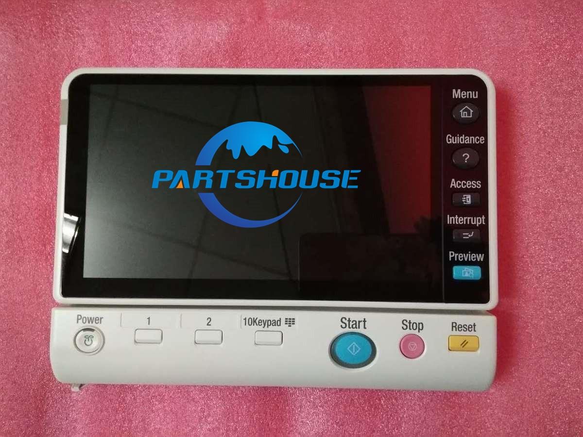Original used Control panel for Konica Minolta bizhub C554 C654 C754 C224 C284 C364 C454 LCDDisplay Touch screen Operation panel