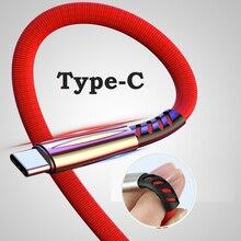 REZ Высокое качество usb type C кабель для huawei mate 20 P20 Lite Pro samsung S10 Быстрая зарядка USBC type-c кабель USB-C зарядное устройство