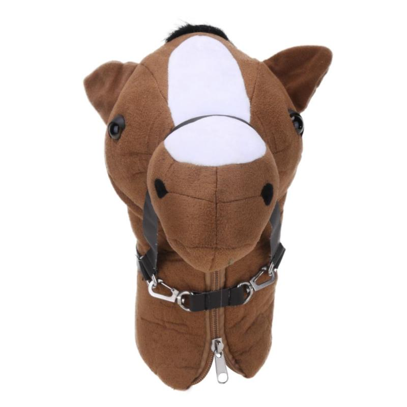 4 Style Cartoon Golf Club Head Cover Protective Head Animal Fleece Golf Club Head Protective Cover For 460cc No.1 Driver Wood