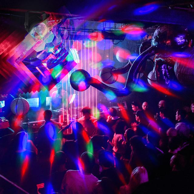 RGB LED Party Effect Crystal Magische Bal Party Disco US/EU/UK Plug