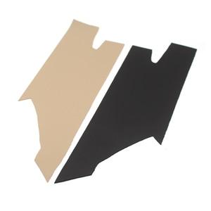 Image 2 - Poignée de porte intérieure en cuir microfibre, garniture décorative, pour BMW série 3 F30, 2013, 2014, 2015, 2016, 2017