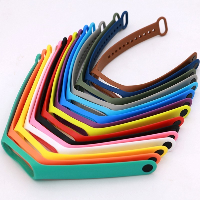 Color Watchbands For Mi Band 2 4 Accessories Pulseira Miband 2 Strap Replacement Silicone Wriststrap For Xiaomi 2 Smart Bracelet
