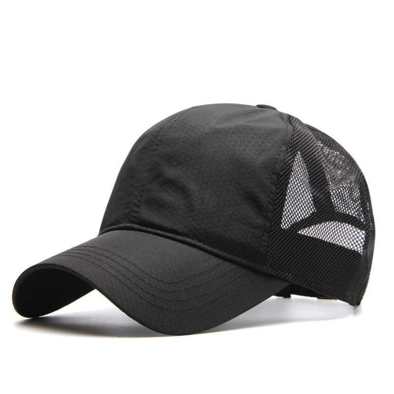 771153e48 Big Head Man Plus Size Baseball Cap Men Summer Thin Fabric Mesh Sun Hat  Male Snapback Hats M 55-59cm L 60-64cm