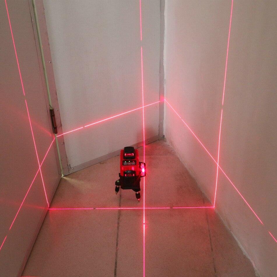 KaiTian 3D лазерный уровень 360 Вращающийся Nivel лазер 12 линий лазерный уровень самонивелирующийся Горизонтальный Вертикальный строительный инст...