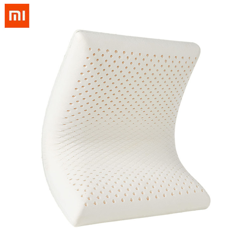 Xiaomi 8 H Fine Latex lent rebond mémoire coton oreiller Z1S Super doux antibactérien orthopédique cou soutien oreiller
