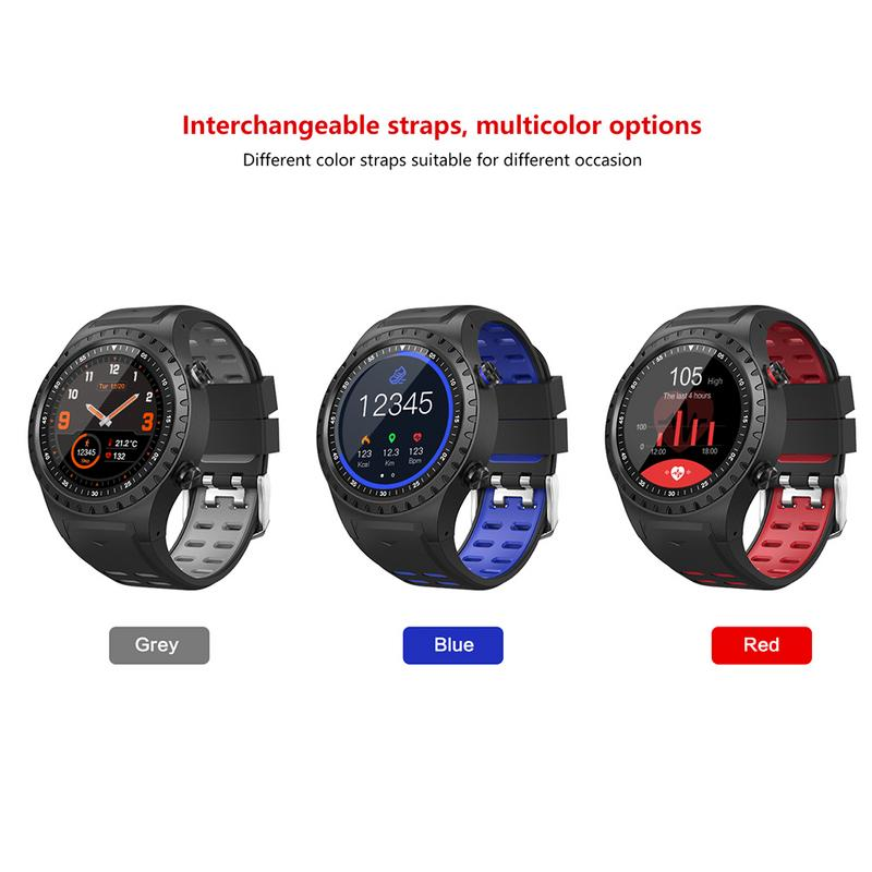 New GPS Smart Sports Watch Bluetooth Call Multi-Sports Fashion Mode Compass Altitude Outdoor For Android